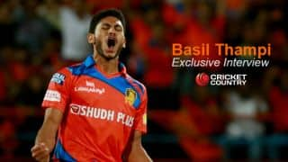 Basil Thampi: I owe a lot to Suresh Raina