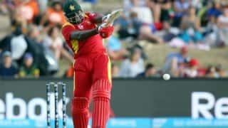 Hamilton Masakadza scores 27th ODI half-century in game against Pakistan in 1st ODI at Lahore