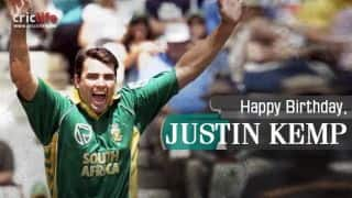 Justin Kemp: 9 facts about the big-hitting South African all-rounder