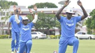 West Indies begin training for tour of Sri Lanka 2015