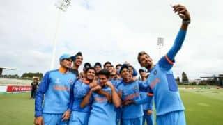 अंडर-19 विश्व कप 2018: पाकिस्तान को 203 रनों से मात देकर फाइनल में पहुंची टीम इंडिया