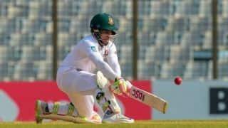 Bangladesh sweat over Mushfiqur's fitness ahead of New Zealand Test series