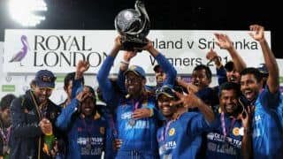 Mahela Jayawardene, Lahiru Thirimanne help Sri Lanka beat England by 6 wickets in 5th ODI; take series 3-2