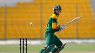 Pakistan vs South Africa ICC Under-19 World Cup final: Pakistan dominate as South Africa reach 57/2 in 20 overs