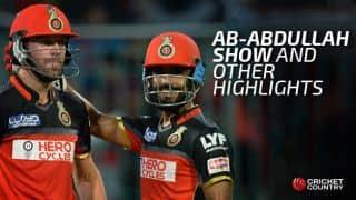 GL vs RCB IPL 2016, Qualifier 1 at Bangalore: Highlights