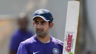 India vs New Zealand: Gautam Gambhir gets less batting practice than colleagues ahead of 2nd Test