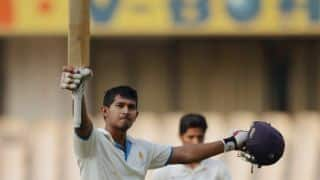 Ganesh Satish's 71* helps Vidarbha lead by 79 runs against Karnataka