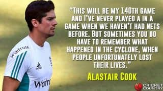 Alastair Cook opines on Test cricket and Vardah cyclone tragedy