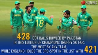 The curse of semi-final in ICC Champions Trophy for Pakistan and other statistical preview ahead of their clash against England