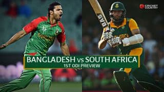 Bangladesh vs South Africa 2015, 1st ODI at Dhaka Preview: Bangladesh look to continue one-day momentum against strong Proteas