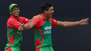 Taksin Ahmed dismisses Akshar Patel as India are eight down against Bangladesh in 3rd ODI