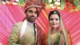 VIDEO: Bhuvneshwar Kumar ties knot with Nupur Nagar