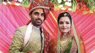 VIDEO: Bhuvneshwar Kumar ties knot with Nupur Nagar