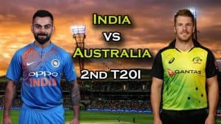 India vs Australia 2018, 2nd T20I Live cricket score: Persistent rain forces the match to be abandoned