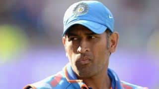 MS Dhoni has not been dropped, India's selectors are just experimenting: Chandu Borde