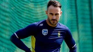 ICC WORLD CUP 2019: South African captain Faf Du Plessis looking for new strategy against India