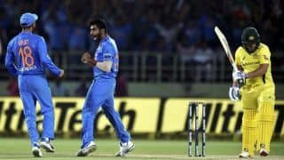 Aaron Finch concedes facing Jasprit Bumrah in the death over is not easy