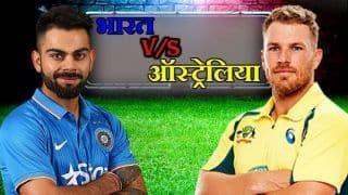 विशाखापत्तनम T20:  ऑस्ट्रेलिया की भारत पर 3 विकेट से जीत