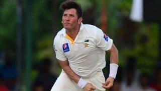 Yasir Shah helps Pakistan restrict Sri Lanka to 153/4 at Tea in 3rd Test, Day 1 at Pallekele