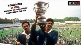 On this day: India cricket team win the 1983 World Cup