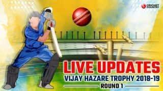 2018 Vijay Hazare Trophy, Vijay Hazare Trophy, Full Cricket Score, Round 1 Result: Prithvi Shaw star; Andhra stun Kerala in low-scorer