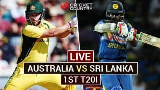 Live Cricket Score Australia vs Sri Lanka 1st T20I at Melbourne: SL win by 5 wickets