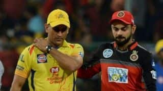 Indian T20 League: Chennai opt to bowl first vs Bangalore