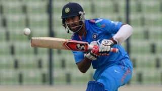 Vijay Hazare Trophy 2014-15: Saurashtra beat Maharashtra by 63 runs