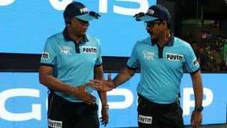 Sanction unlikely for umpires Ravi and Nandan due to lack of officials