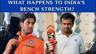 India vs Bangladesh 2014: What happens to India's bench strength?