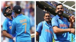 विराट कोहली-रोहित शर्मा ने अपने 'कप्तान' धोनी को दी जन्मदिन की बधाई
