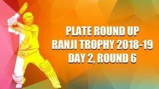 Ranji Trophy 2018-19, Plate, Round 6, Day 2: Puducherry thrash Arunachal by 334 runs