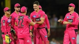 MATCH HIGHLIGHTS | BBL, Match 1: Faulkner, Meredith Star as Hurricanes Beat Sixers by 16 Runs to Start Campaign With a Win