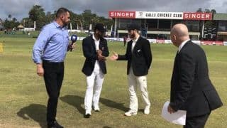 Galle Test LIVE: New Zealand play three spinners and bat, Sri Lanka leave out Dinesh Chandimal
