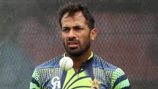 Wahab Riaz ruled out of Pakistan's T20 series in Sri Lanka