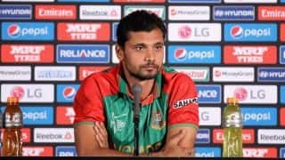 ICC World Cup 2019: If we play our best cricket then anything can happen, says Mashrafe Mortaza