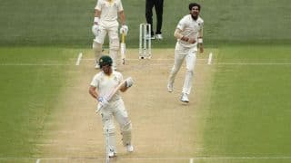 1st Test, Adelaide: Allan Border cautions against dropping Aaron Finch down the order