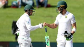 Faf du Plessis, Quinton de Kock's fifties boosts South Africa's lead in first session vs New Zealand on Day 2 of 3rd Test