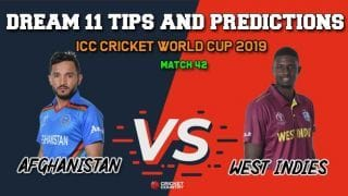 AFGH vs WI Dream11 Prediction, Cricket World Cup 2019, Match 42: Best Playing XI Players to Pick for Today's Match between Afghanistan and West Indies at 3 PM