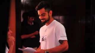 Virat Kohli raises awareness over drunken driving in India