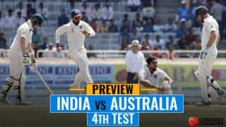 Australia chase history; wounded India eye winning end