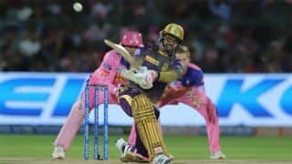 Lynn, Narine muscle KKR to top with emphatic win