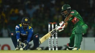 Mosaddek Hossain-Mahmudullah partnership takes Bangladesh to 155 for 6