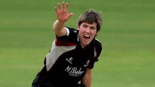 Jamie Overton joins twin brother, Craig Overton to replace Liam Plunkett in England ODI squad against New Zealand