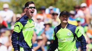 Sachin Tendulkar, MS Dhoni were big wickets for me in ICC World Cup 2011 clash against India: George Dockrell