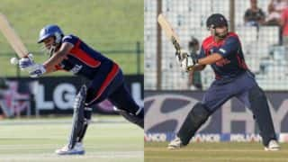 Nepal vs Kenya, ICC WCL: Gyanendra Malla, Dipendra Singh Airee's fifties, Sharad Vesawkar's last-minute heroics hand hosts victory at home