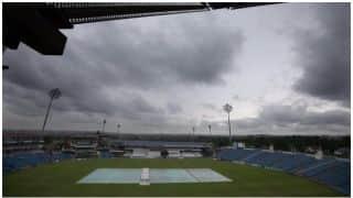 चैंपियंस ट्रॉफी:बारिश की भेंट चढ़ा न्यूजीलैंड-ऑस्ट्रेलिया का मैच
