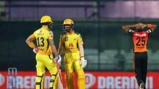 IPL 2021 CSK vs SRH Match Highlights in Pictures: Dominant Chennai Super Kings Beat Sunrisers Hyderabad by 7 Wickets