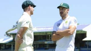 "Ball-tampering row: Faf du Plessis terms Steven Smith's ban as ""harsh""; extends sympathy"