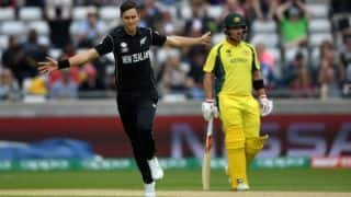ICC Champions Trophy 2017: Australia-New Zealand match abandoned due to rain, team's share a point each